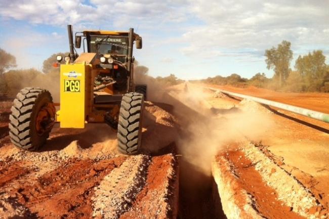 Eastern Goldfields Gas Pipeline, Spiecapag Lucas
